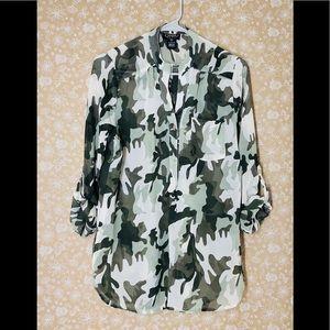 Camouflage women shirt.